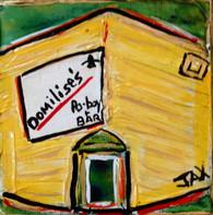 Domilise's mini painting