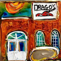 Drago's mini painting