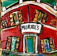 Muriel's mini painting