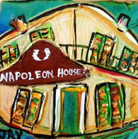 Napoleon House mini painting