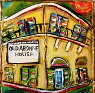 Old Absinthe House mini painting