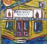 Parkway Bakery mini painting