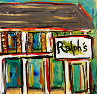 Ralph's on the Park mini painting