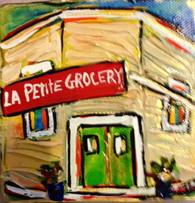 La Petite Grocery mini painting