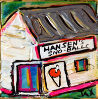 Hansen's Sno Blitz - mini painting