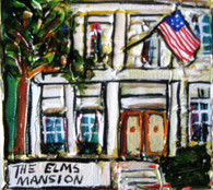 Elms Mansion mini painting