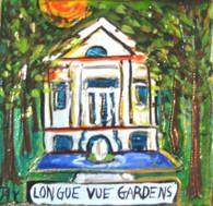 Longue Vue Gardens mini painting