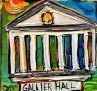 Gallier Hall mini painting