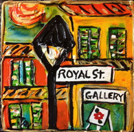 Royal Street Mini Painting