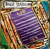 LSU - Tiger Stadium Mini painting