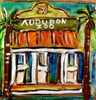 Audubon Zoo Mini painting