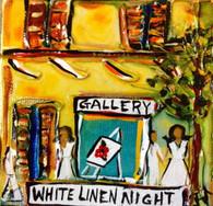 White Linen Night Mini painting