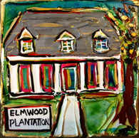 Elmwood Plantation Mini painting
