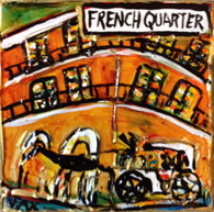 French Quarter Mini painting