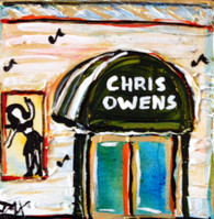 Chris Owens Club Mini Painting