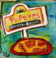 Popeye's Mini Painting
