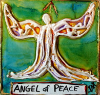 Angel of Peace Mini Painting