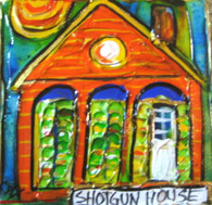 Shotgun House - Mini painting