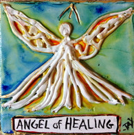 Angel of healing MiniPainting
