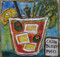 Cajun Bloody Mary Mini Painting
