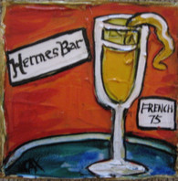 Hermes Bar Mini Painting