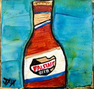 Falstaff Beer Mini Painting