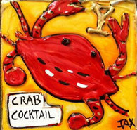 Crab Cocktail Mini Painting