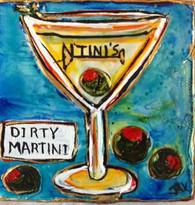 Dirty Martini Mini Painting