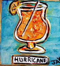 Hurricane Mini Painting