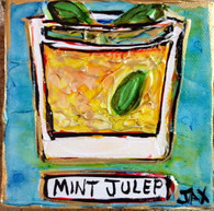 Mint Julep Mini Painting