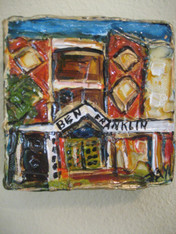 Ben Franklin High School Mini Painting- new school
