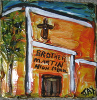 Brother Martin Mini Painting