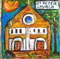 St. Peter's Church Mini Painting