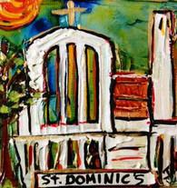 St. Dominic's Mini Painting