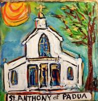 St. Anthony of Padua Mini Painting