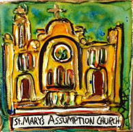 St. Mary's Assumption Mini Painting