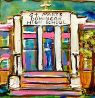 St. Mary's Dominican High School Mini Painting