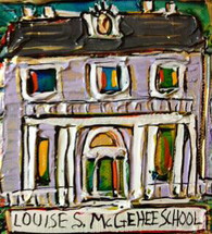 Louise S. McGehee Mini Painting