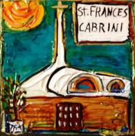 St. Frances Cabrini Mini Painting