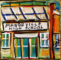 Mandeville High School Mini Painting