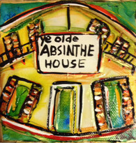 Absinthe House Mini Painting