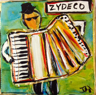 Zydeco Mini Painting