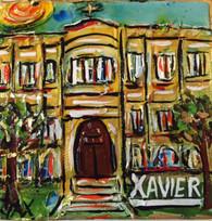 Xavier University Mini Painting