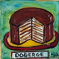 Doberge mini painting