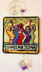Gumbeaux Sistahs  at the Beach Tree Ornament