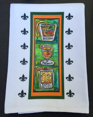 New Orleans Cocktails Tea Towels