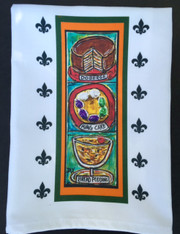 New Orleans Desserts Tea Towel