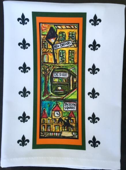 New Orleans !!! Tea Towel