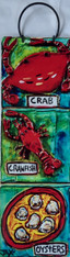 New Orleans Seafood Metal Sign by Jax