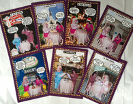 2 Yat Girls Greeting Cards Pack